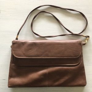 Vintage brown bag with strap